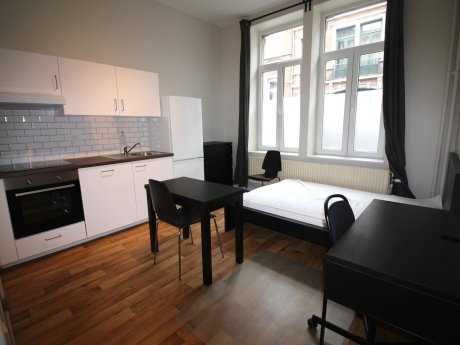 studio 18 m² in Liege Outremeuse