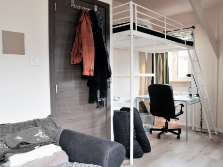 student room 15 m² in Liege Féronstrée / Pierreuse